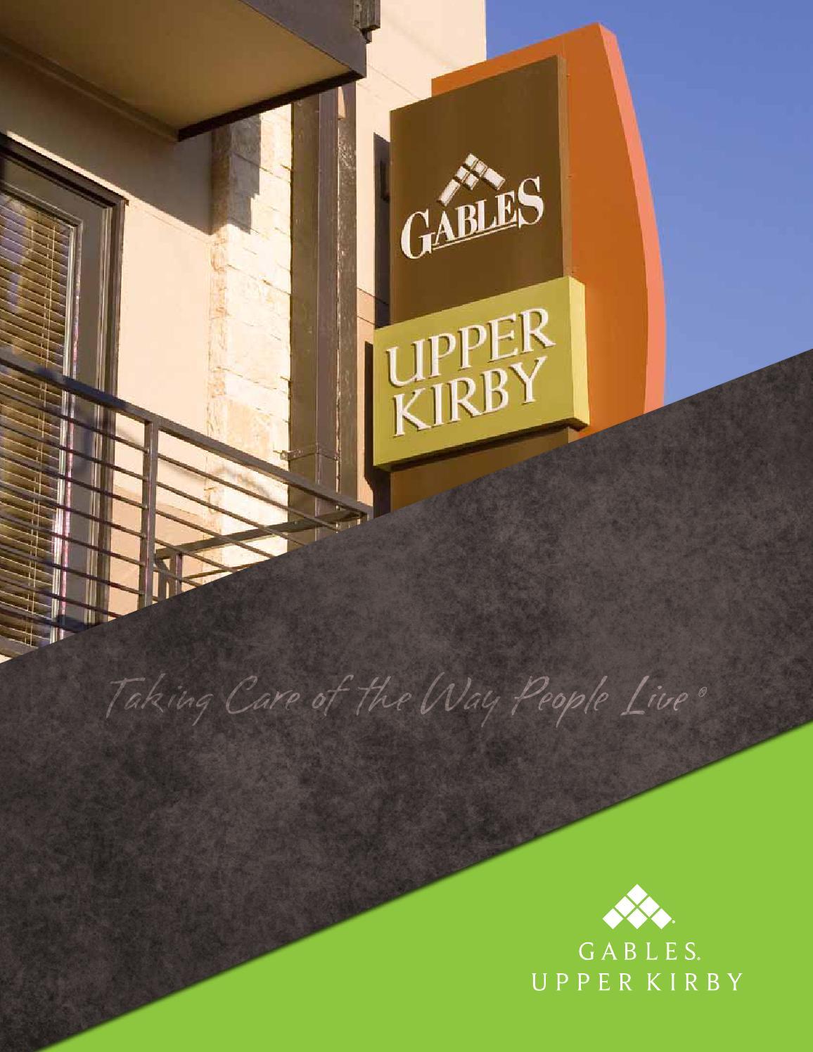 Gables Upper Kirby Ebrochure By Gables Residential Issuu