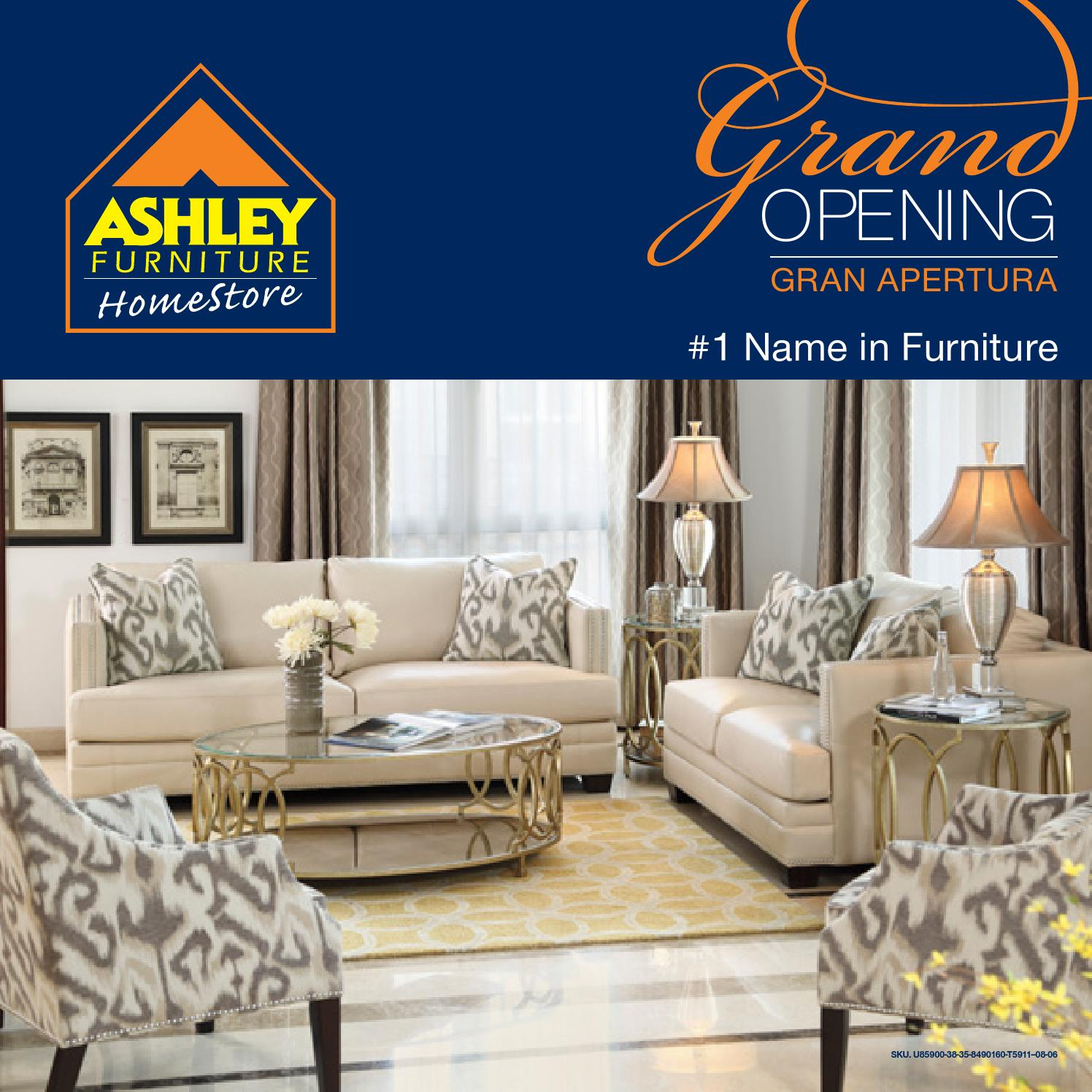 Gran Apertura Ashley Furniture HomeStore RD by Ashley Furniture ...