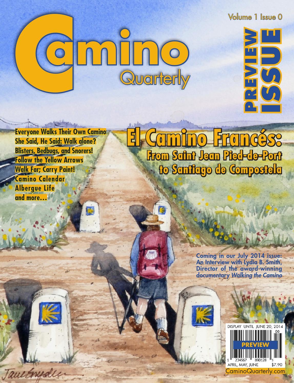 Camino quarterly preview by caminoquarterly issuu - St jean pied de port to santiago distance ...