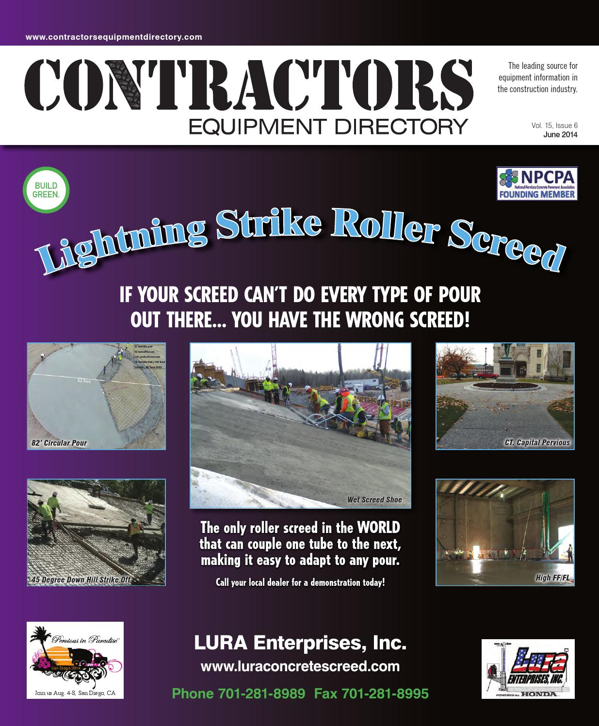 Contractors Equipment Directory June 2014 By Five Star Publishing Remtron Pump Boss Wire Diagram Inc Issuu
