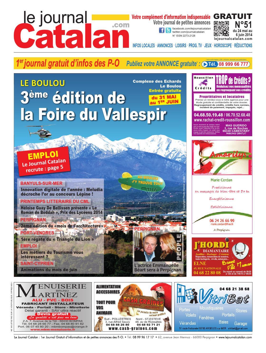 Le Journal Catalan N51 Premier Journal Gratuit D