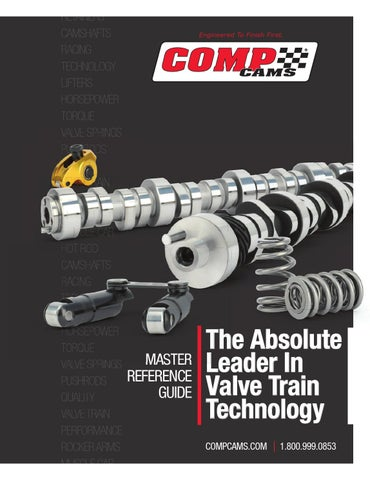2013 COMP Cams Master Catalog by COMP Performance Group™ - issuu