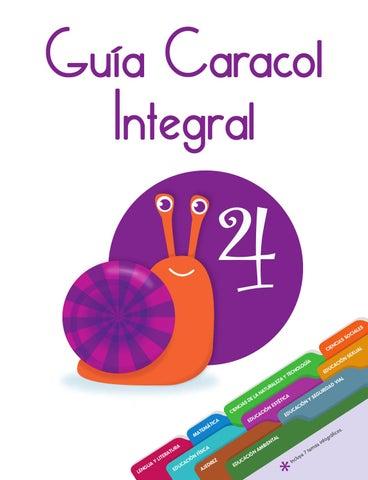 Guía Caracol Integral 4 by SANTILLANA Venezuela - issuu