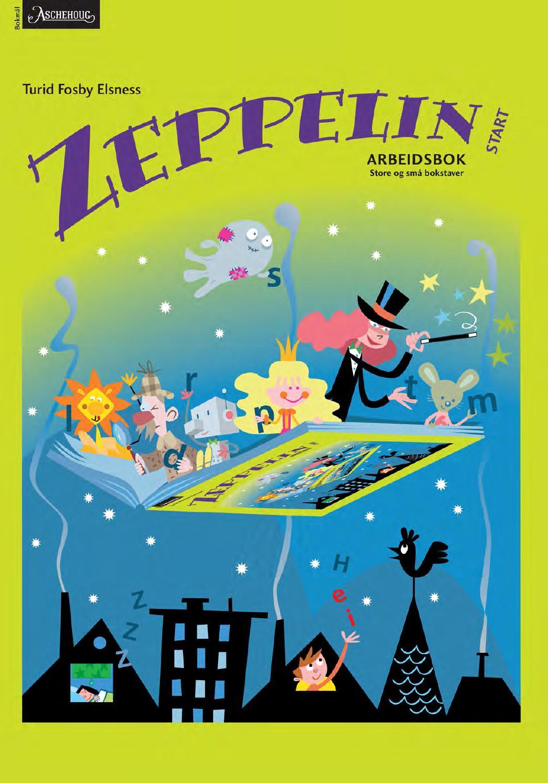 Zeppelin START arbeidsbok, store og sm? bokstaver, BM by Aschehoug ...
