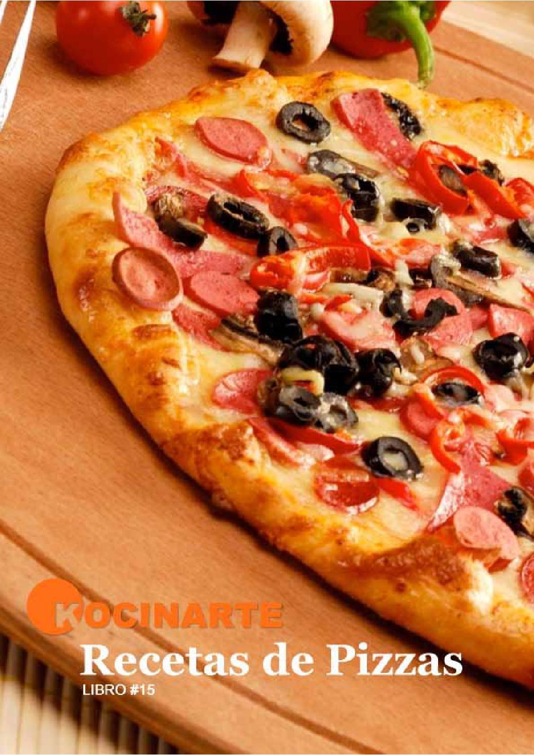 Libro de recetas de pizzas by ana escribano19 issuu for Platos de pizza