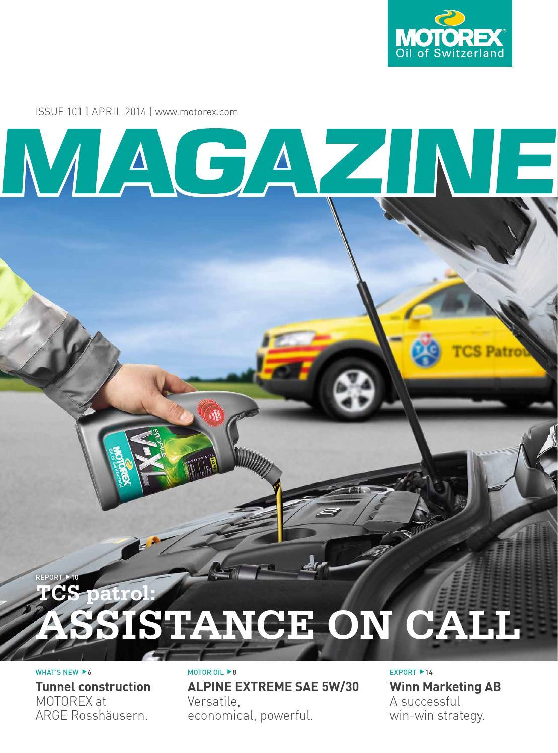 Motorex Magazine Nr 101 2014 En By Issuu Kompresor Chevrolet New Captiva Diesel 2011