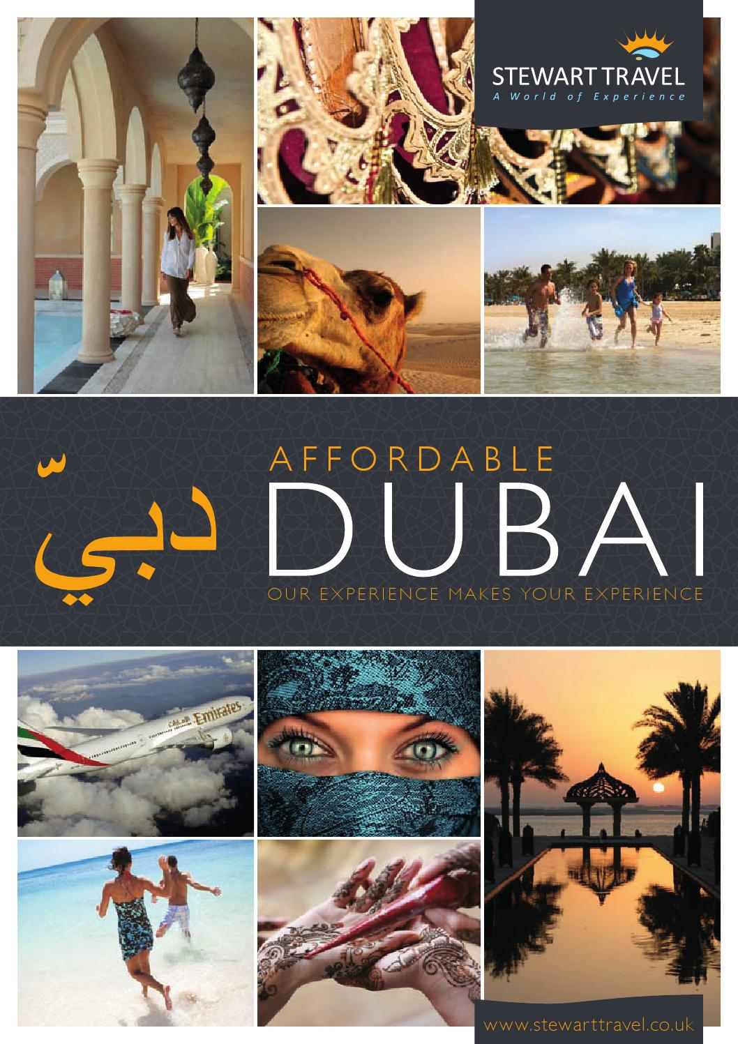 stewart travel dubai brochure by greg mcintyre