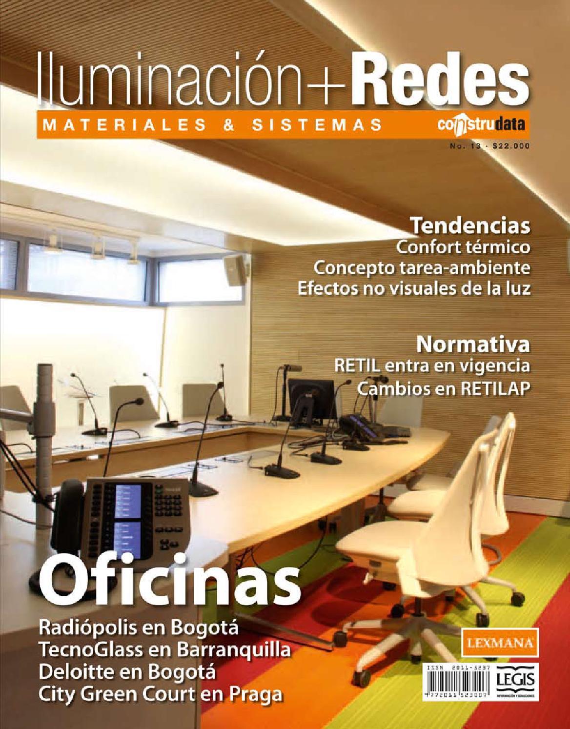 Iluminaci n redes ed 13 by legis sa issuu for Fuera de serie bogota empleo