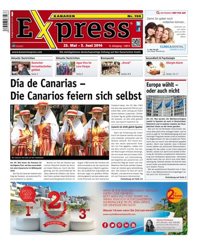 Kanaren Express 196 By Island Connections Media Group Issuu