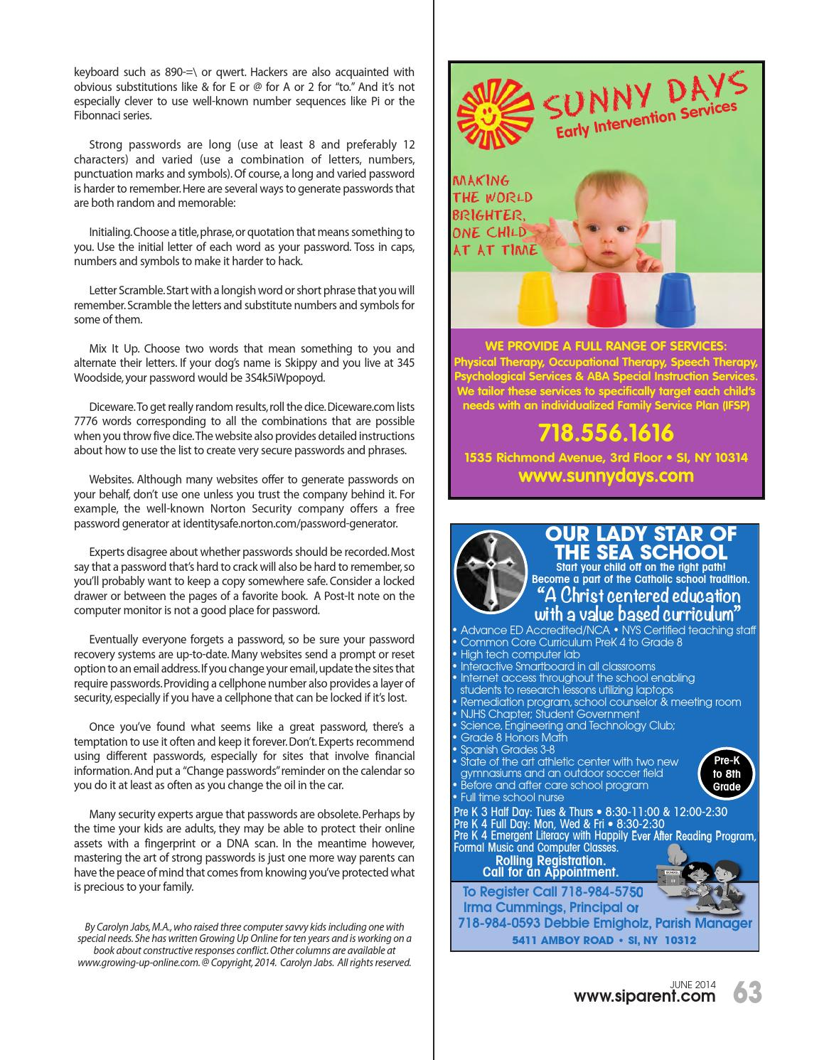 Staten island parent june 2014 by staten island parent issuu biocorpaavc Choice Image