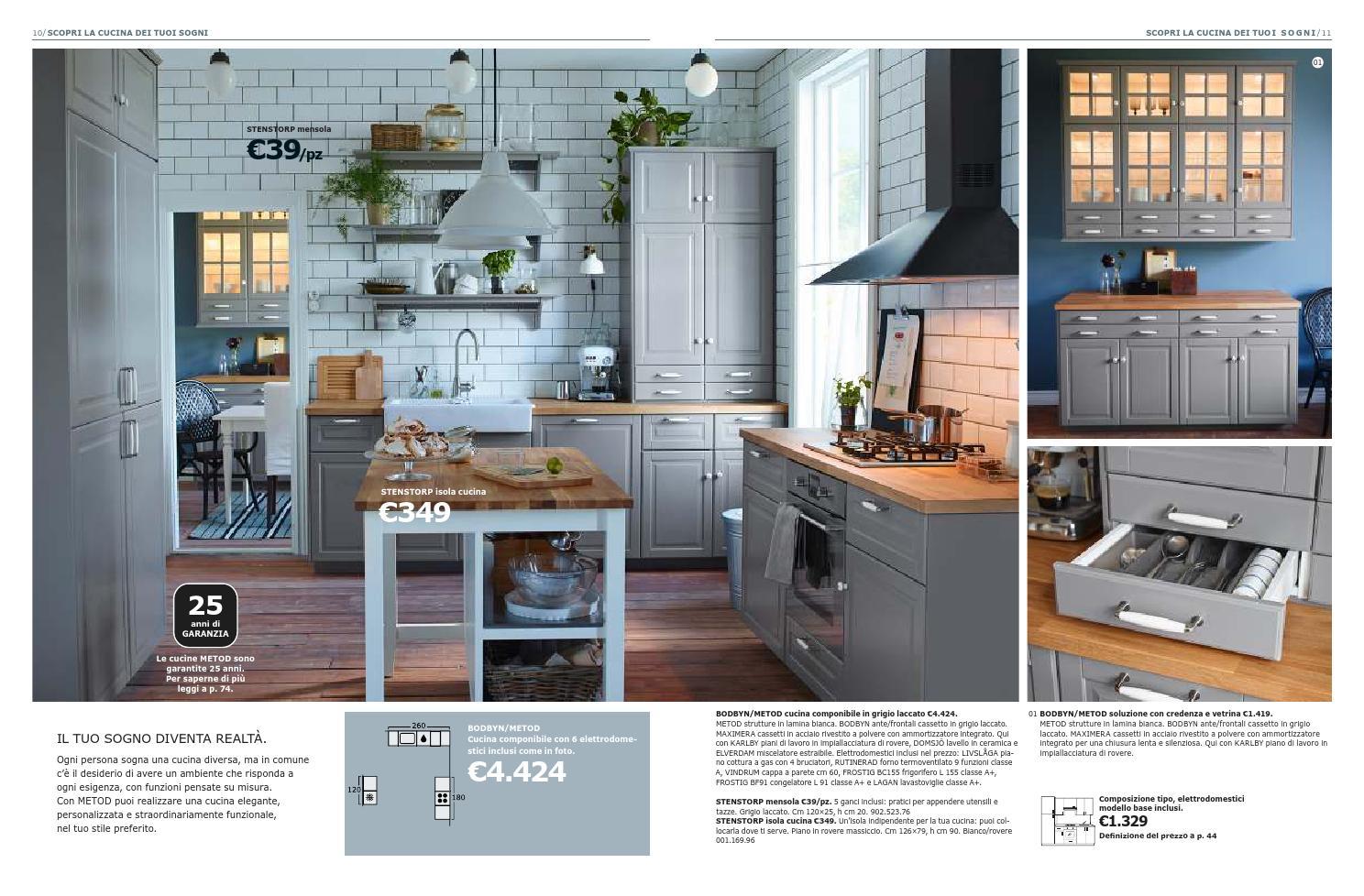 Credenza Bodbyn Ikea : Ikea catalogo cucine by mobilpro issuu