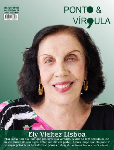 """Cover of """"Revista Ponto & Vírgula - Ano 2 - Edição 14 - Março/Abril 2014"""""""