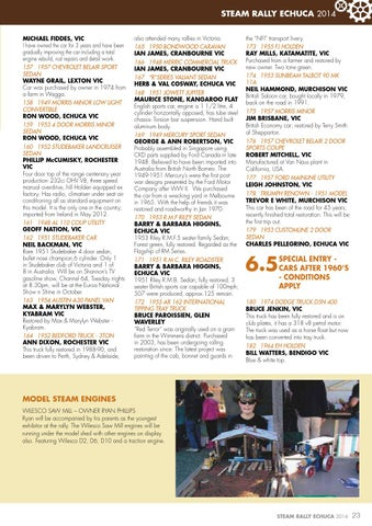 Toys, Hobbies Wilesco 2 Page Catalogue 2012