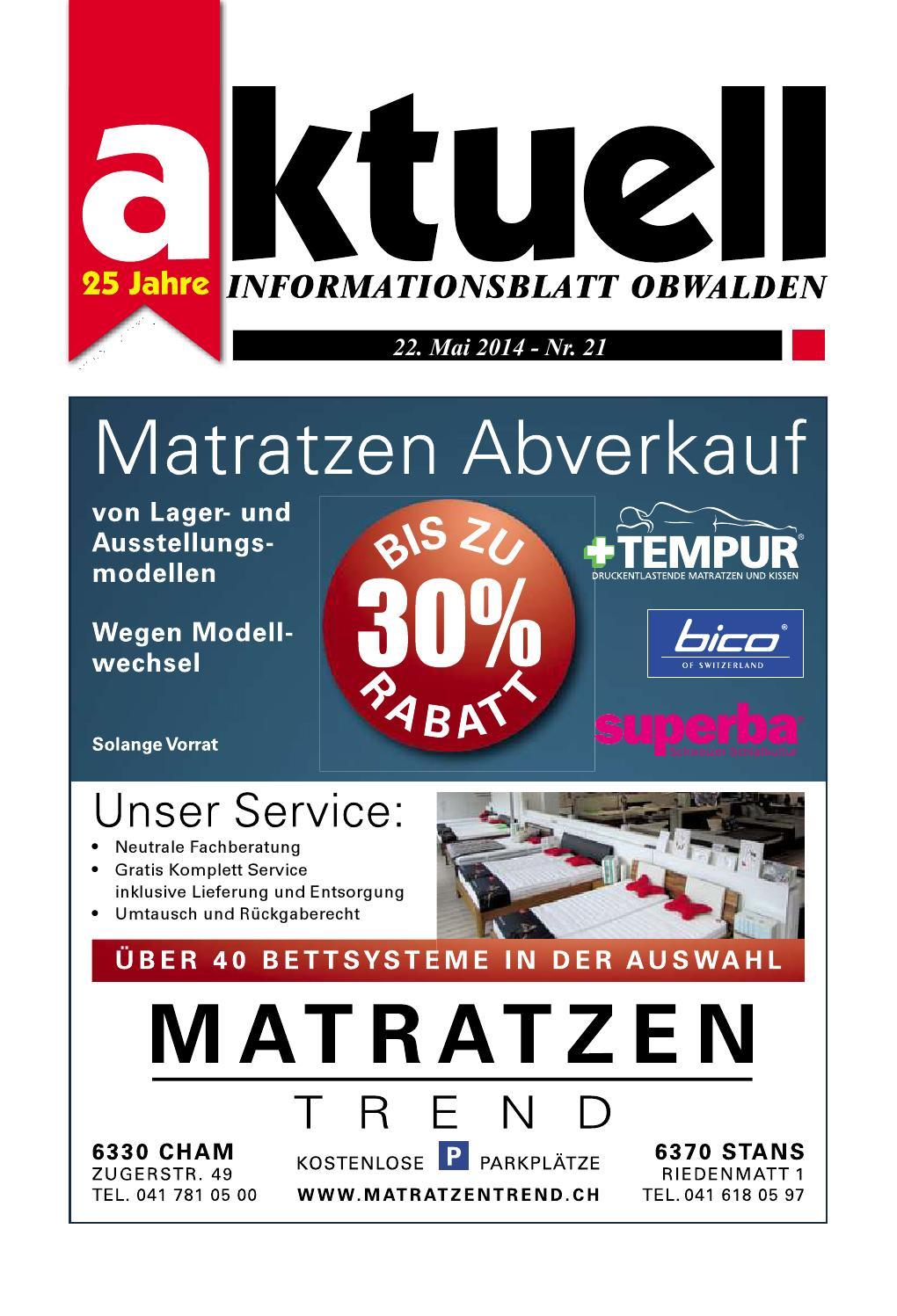 Aktuell Obwalden Nr 21 2014 by Aktuell Obwalden AG issuu