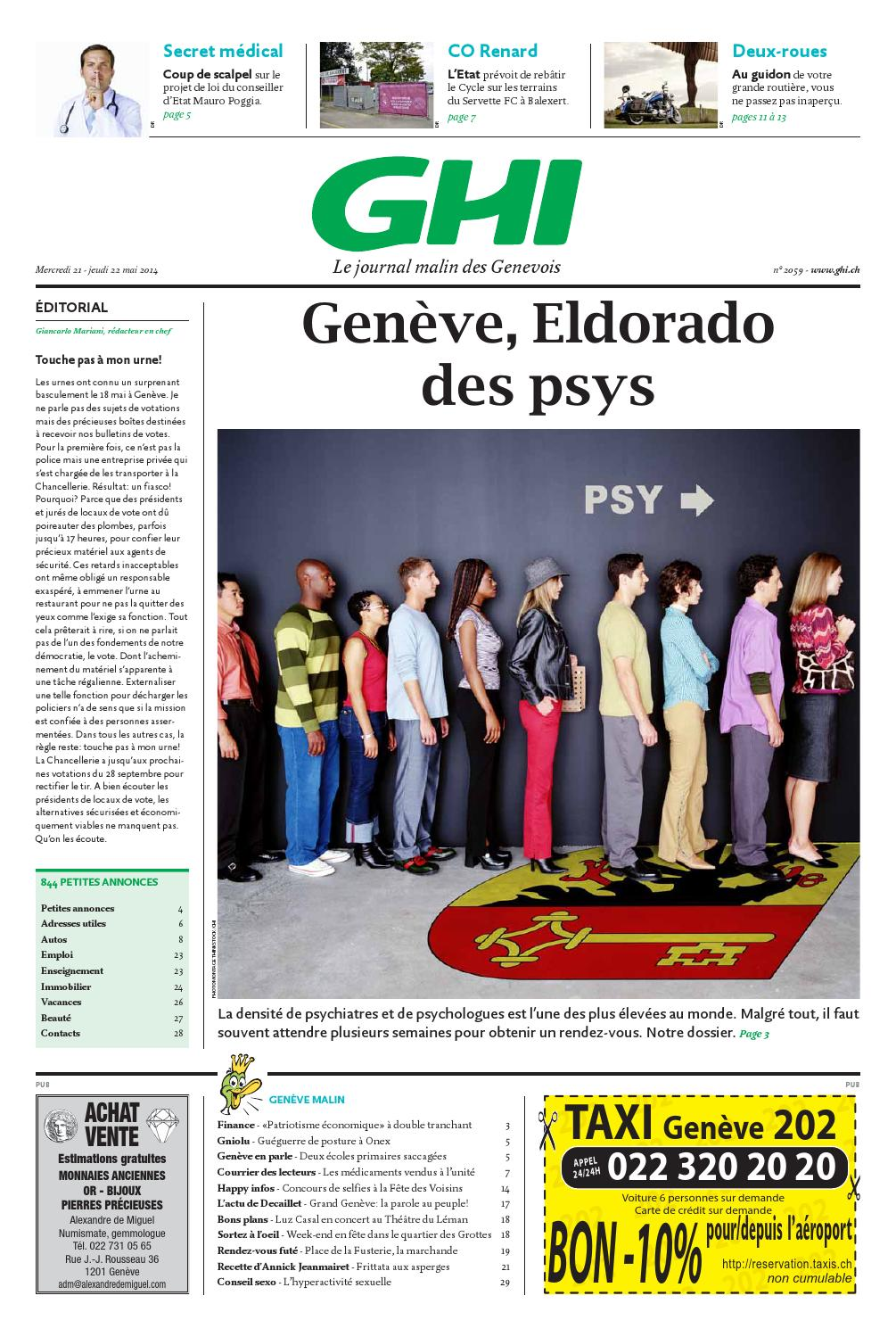 Journal ghi du 21 05 2014