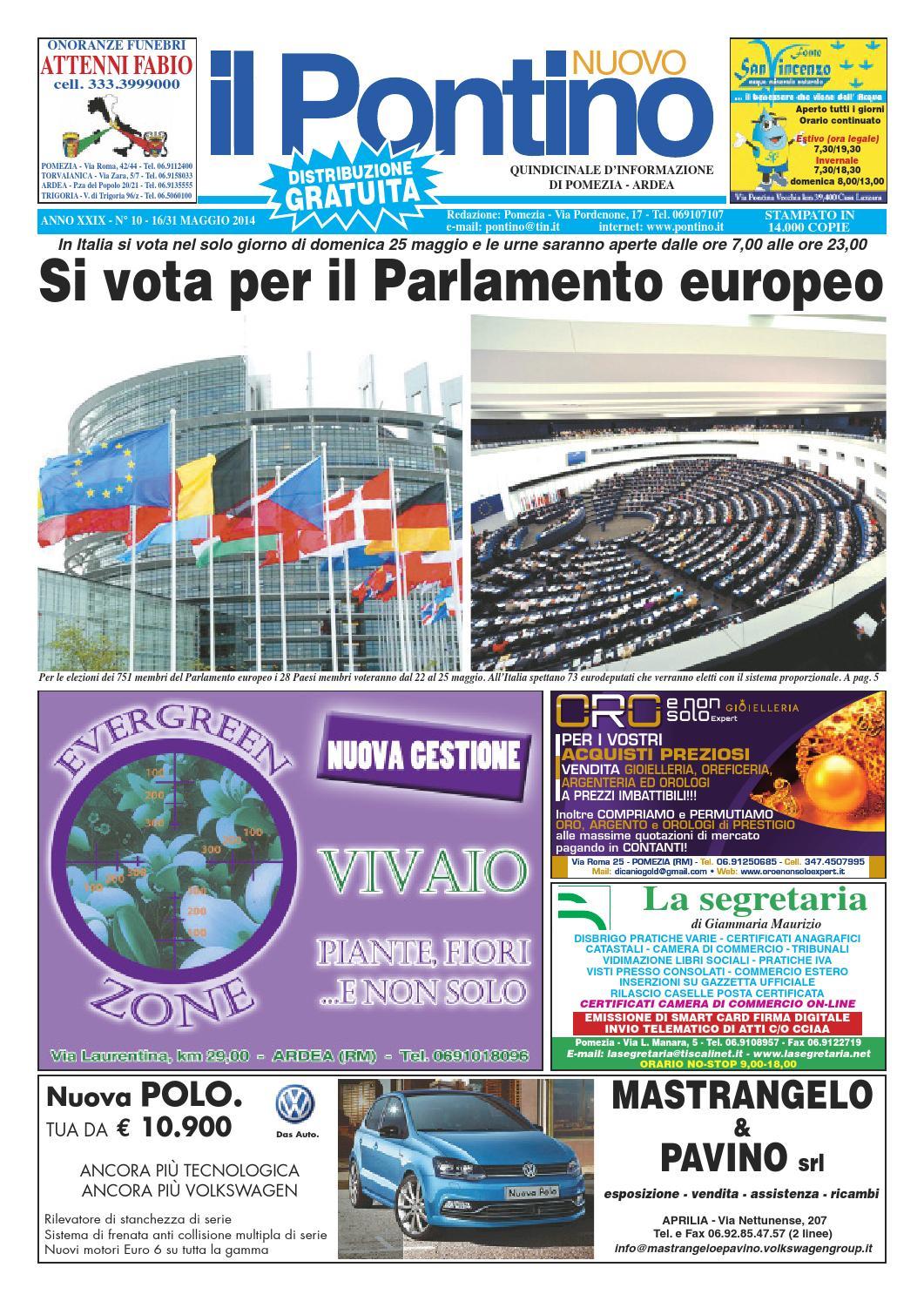 Il Pontino Nuovo n. 10 - 16 31 Maggio 2014 by Il Pontino Il Litorale - issuu faf19c7a809