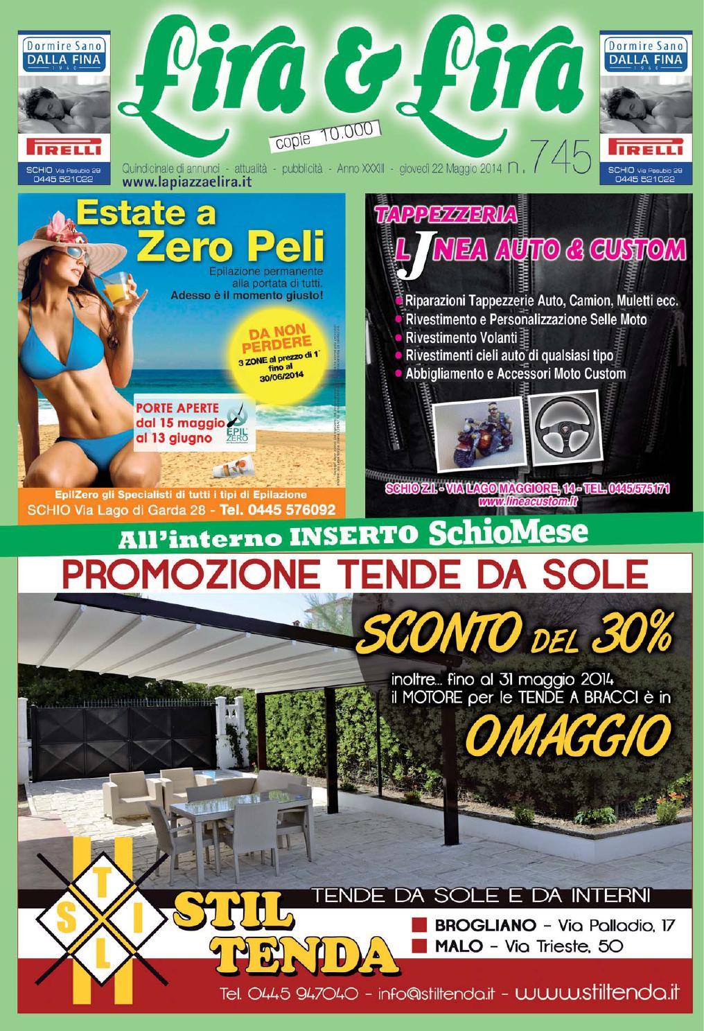 Tende Da Sole Schio lira&lira nr. 745 by pubblistudio pubblicità srl - issuu