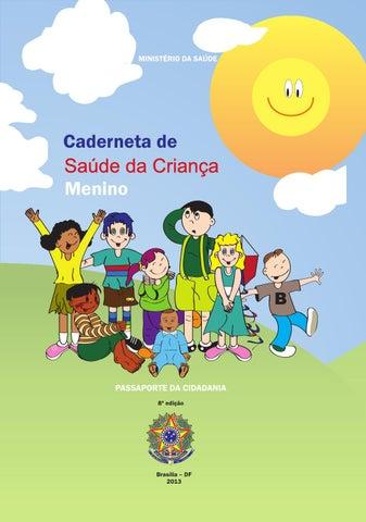 2b7bfb9edd7 Caderneta de Saúde da Criança - Menino by PMJP Prefeitura de João ...