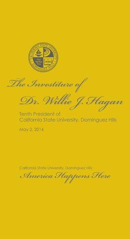 CSUDH 2014 Presidential Investiture Ceremony Program by California ...