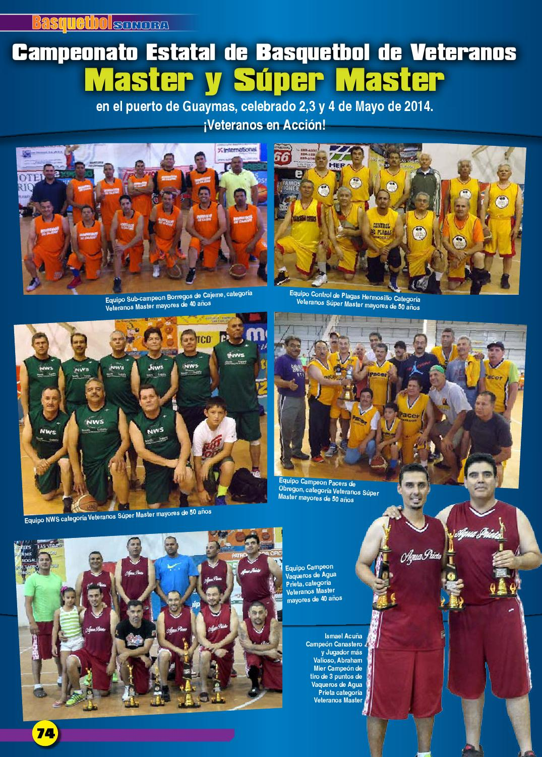 Basquetbol Sonora 2014 Web By Jorge Escarrega Issuu