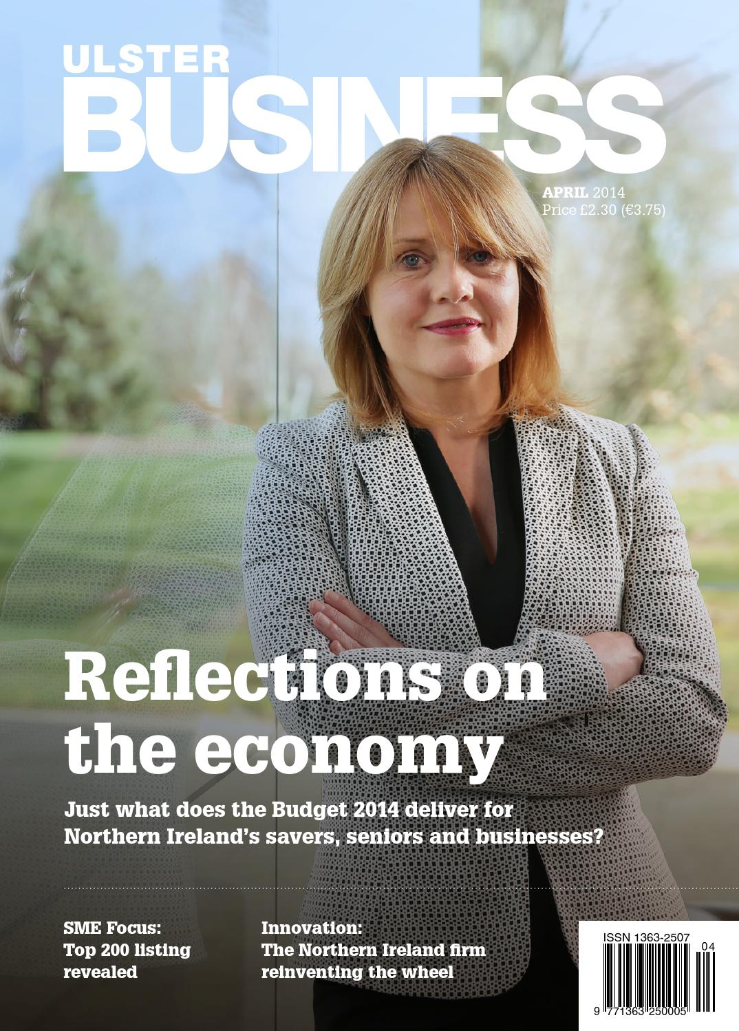 Ulster Business - April 2014 by Ulster Business - issuu