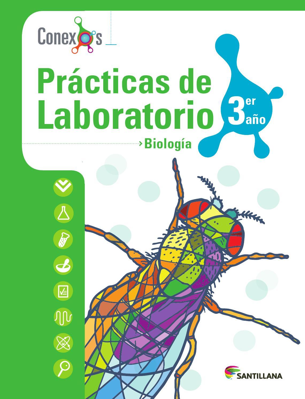 Prácticas de Laboratorio Biología 3er año - Conexos by SANTILLANA ...