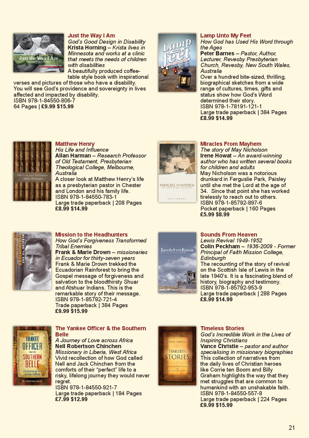 Christian focus cat 2014 by Christian Focus Publications - issuu
