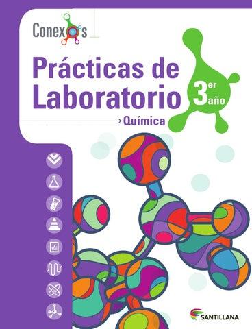 Pr cticas de laboratorio qu mica 3er a o conexos by for Libro la quimica y la cocina pdf