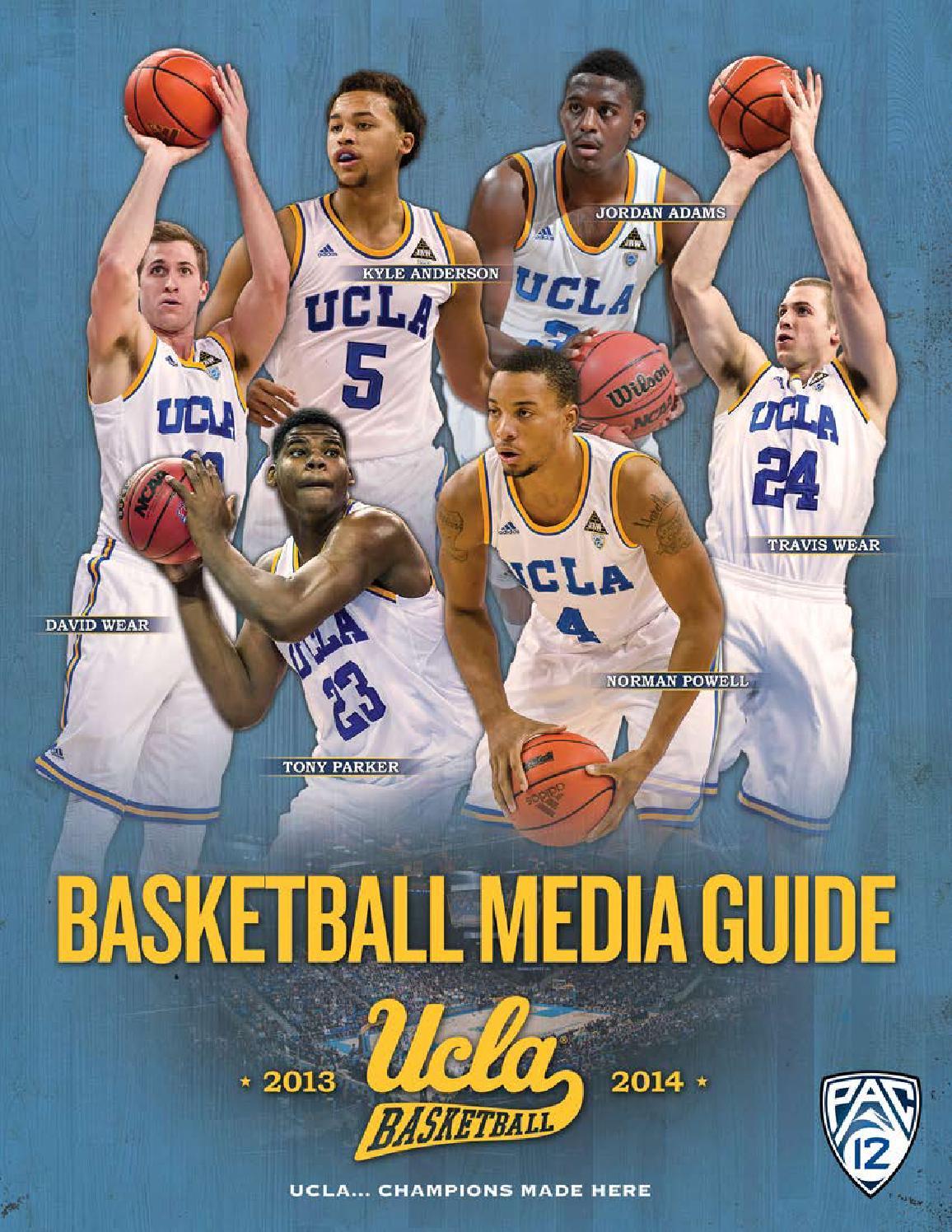 b366e6cc467d 2013-14 UCLA Men s Basketball Media Guide by UCLA Athletics - issuu