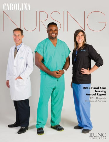 UNC Hospitals Nursing Annual Report 2013 by Sally Johns