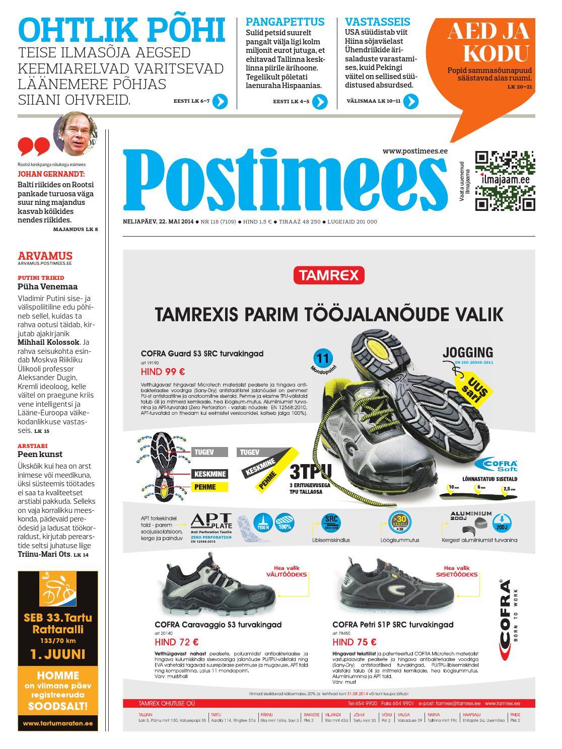 07dad078900 Postimehe paberleht 22 05 2014 by Postimees - issuu