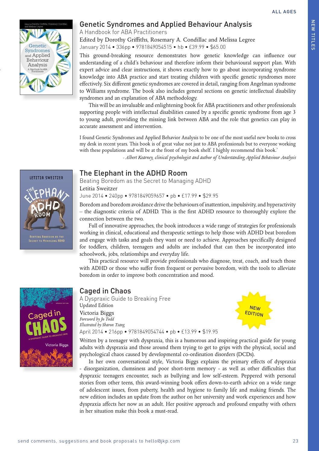New and bestselling books on Autism Spectrum Disorders and