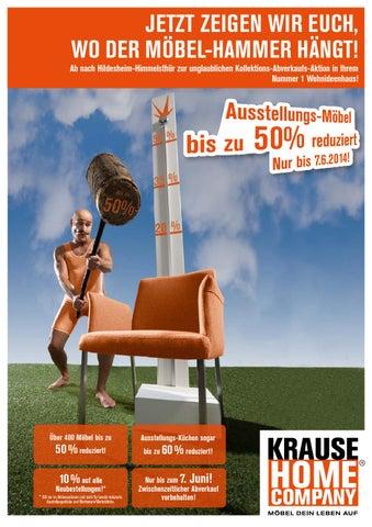 krause hc m bel hammer mai 2014 by perspektive werbeagentur issuu. Black Bedroom Furniture Sets. Home Design Ideas