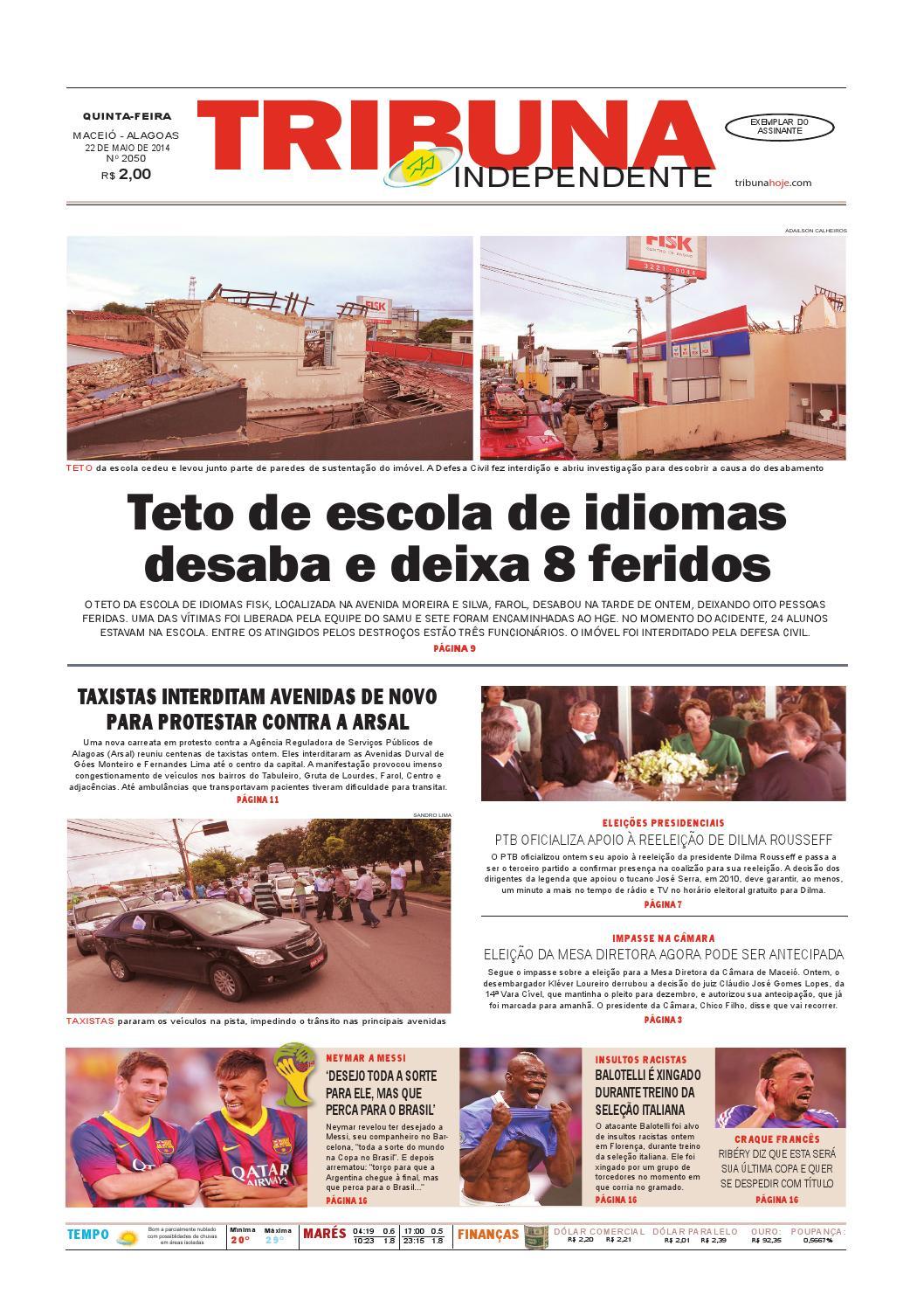 ed1a8be882969 Edição número 2050 - 22 de maio de 2014 by Tribuna Hoje - issuu