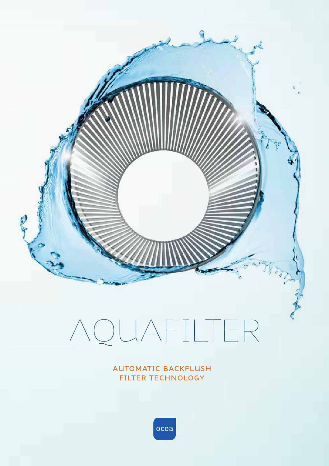 Ocea aquafilter backflush by A til Å Grafisk Design og Media