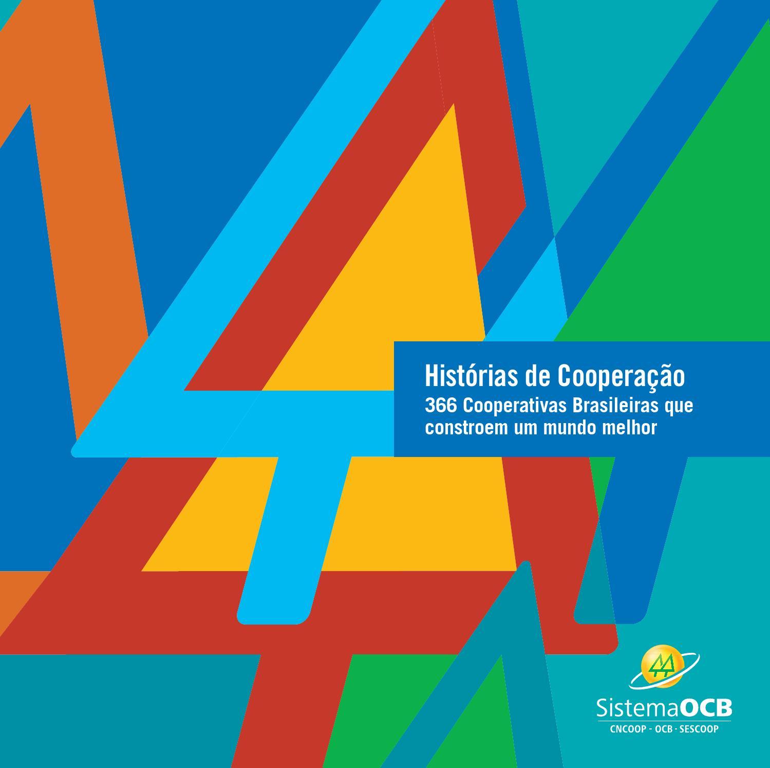 Historias De Cooperacao By Tatiany Fonseca Issuu