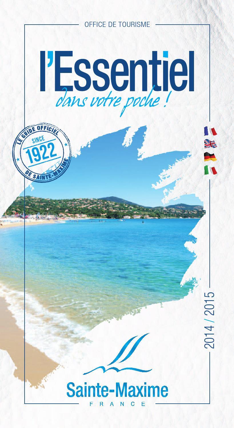 Brochure l 39 essentiel 2014 2015 by office de tourisme de sainte maxime issuu - Office tourisme sainte maxime ...