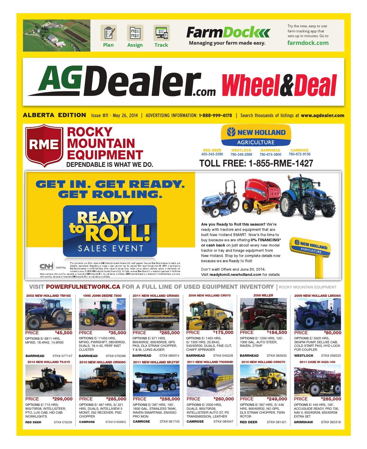 Wheel Amp Deal Alberta May 26 2014 By Farm Business Viking Model 5530 6030 6430 Sewing Machine Threading Diagram Communications Issuu