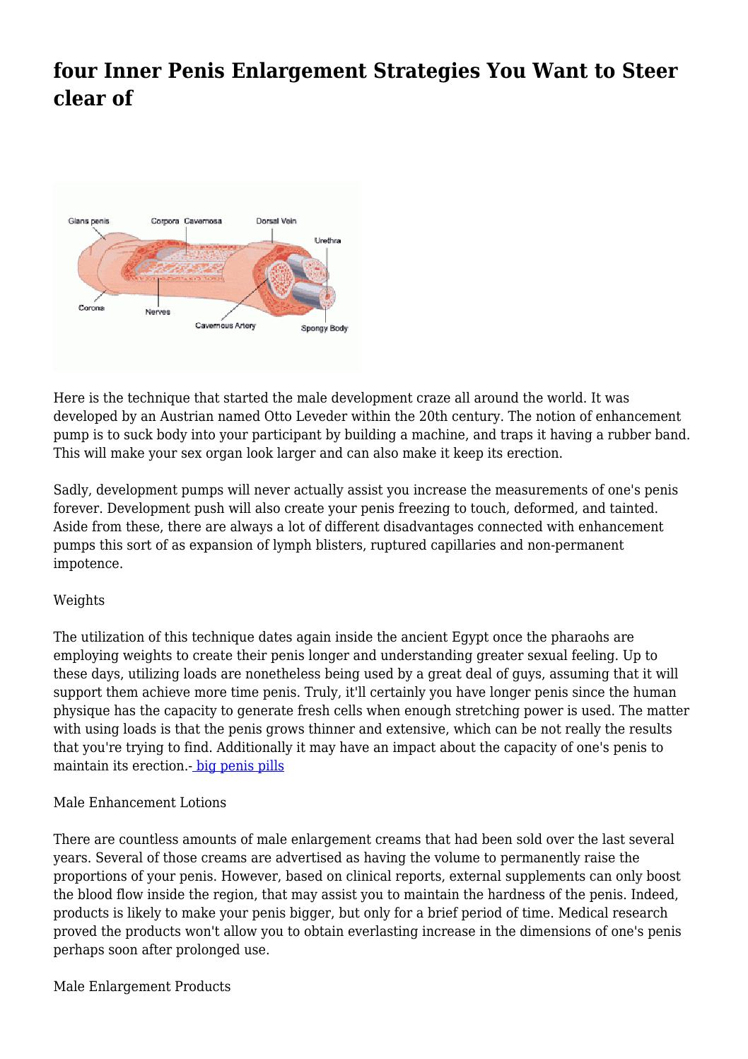 Sexual rubber band technique
