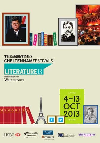The Times Cheltenham Literature Festival 2013 Brochure By Cheltenham