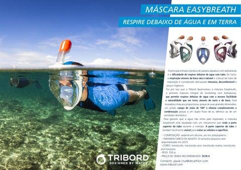 63761446d Comunicado de Imprensa Máscara Easybreath Tribord - Decathlon by ...