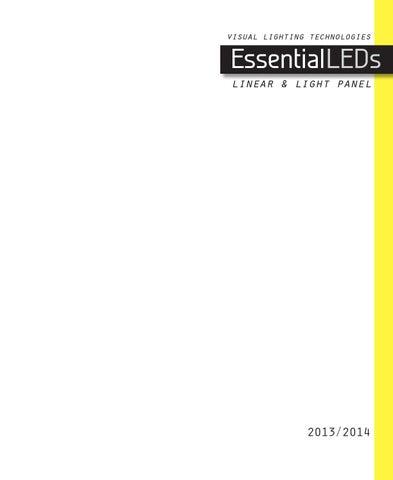 visual lighting technologies  sc 1 st  Issuu & EssentialLEDs Catalog 2013/2014 by Visual Lighting Technologies - issuu