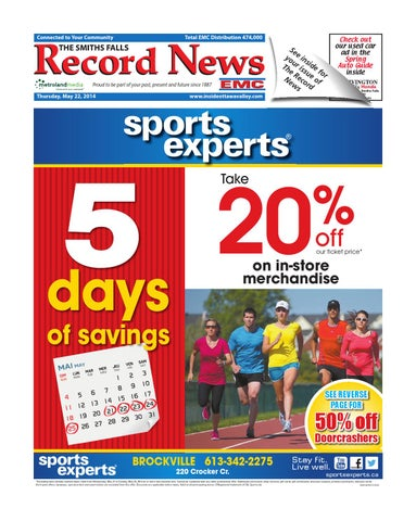 Smithsfalls052214 by metroland east smiths falls record news issuu page 1 fandeluxe Gallery