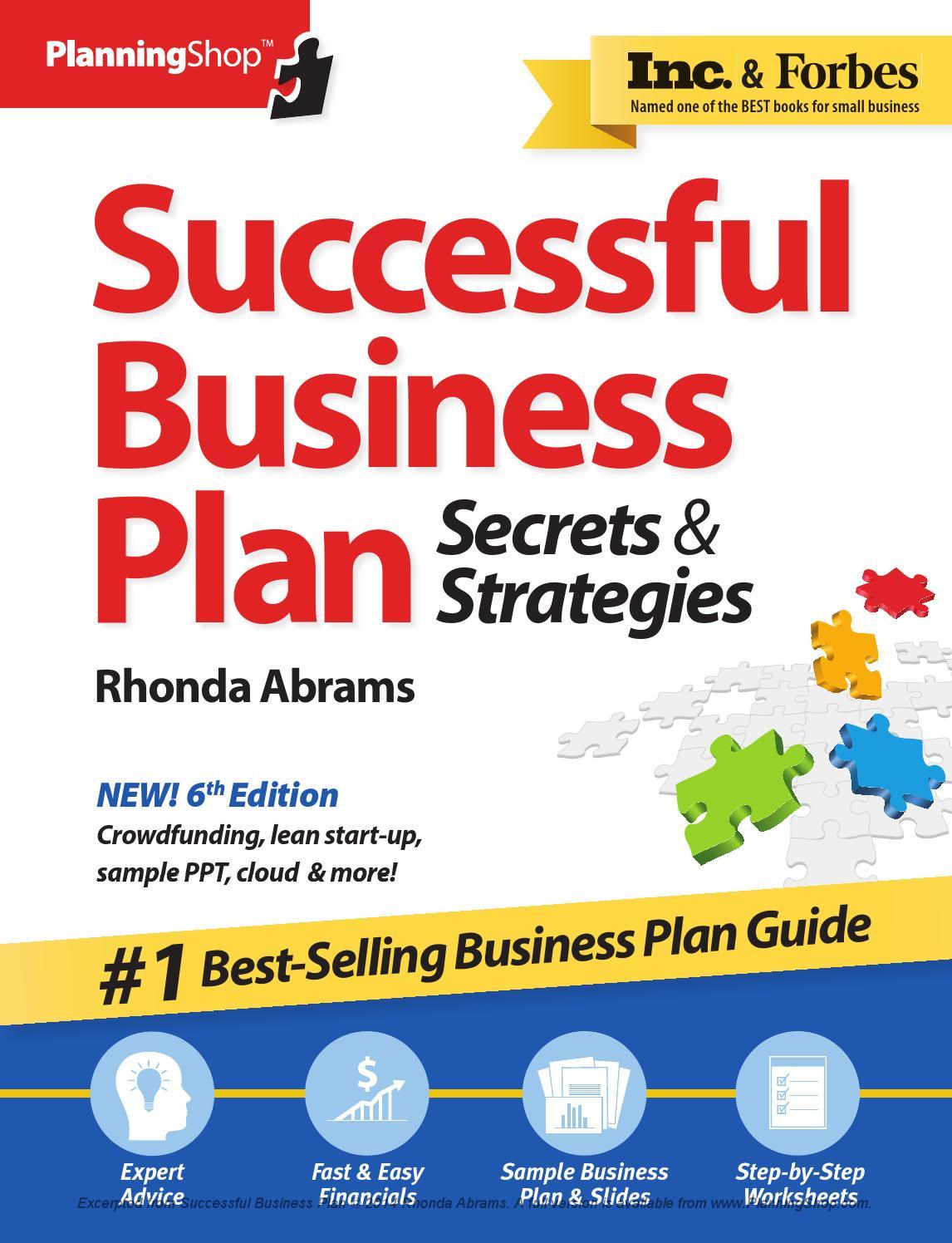 Sba help writing business plan
