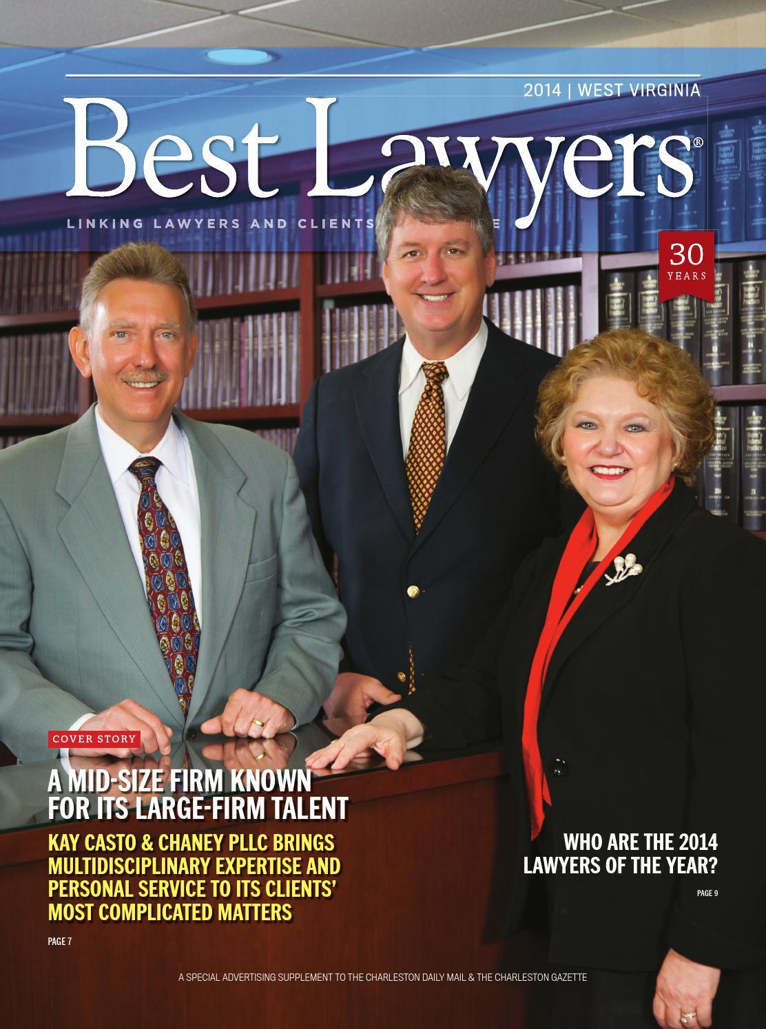 Best Lawyers In West Virginia 2014 By Best Lawyers Issuu