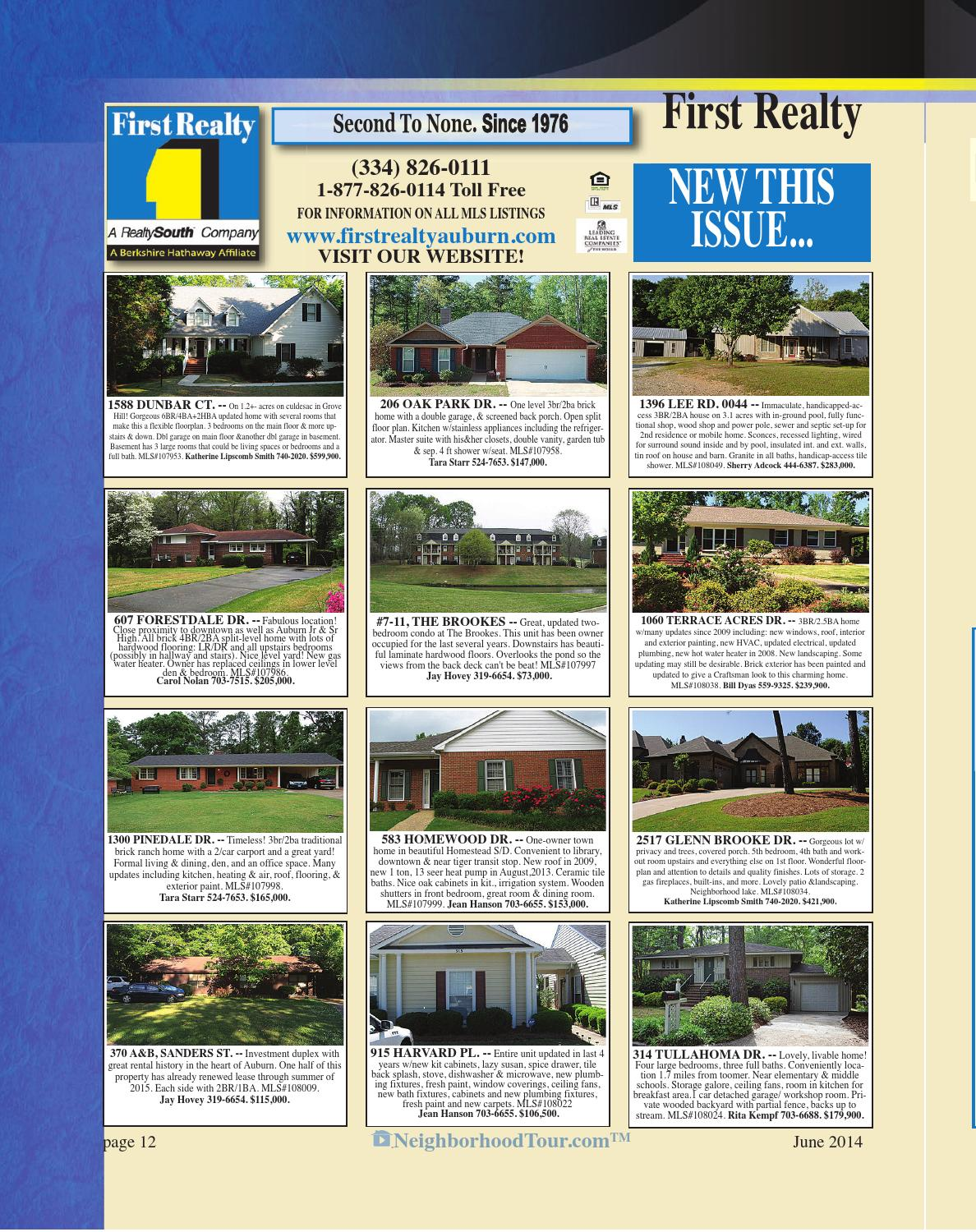 Tremendous Nht Mag Auburn Opelika June 2014 By Neighborhoodtour Com Squirreltailoven Fun Painted Chair Ideas Images Squirreltailovenorg