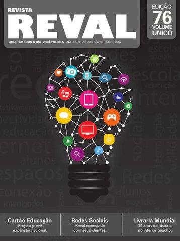 1420bf31f821b Revista Reval 75 - Volume 02 by Reval Atacado de Papelaria Ltda. - issuu