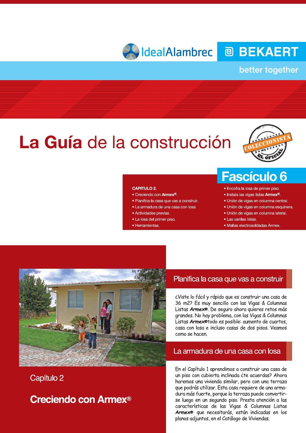 Fasc 6 Guía De La Construcción Ideal Alambrec By