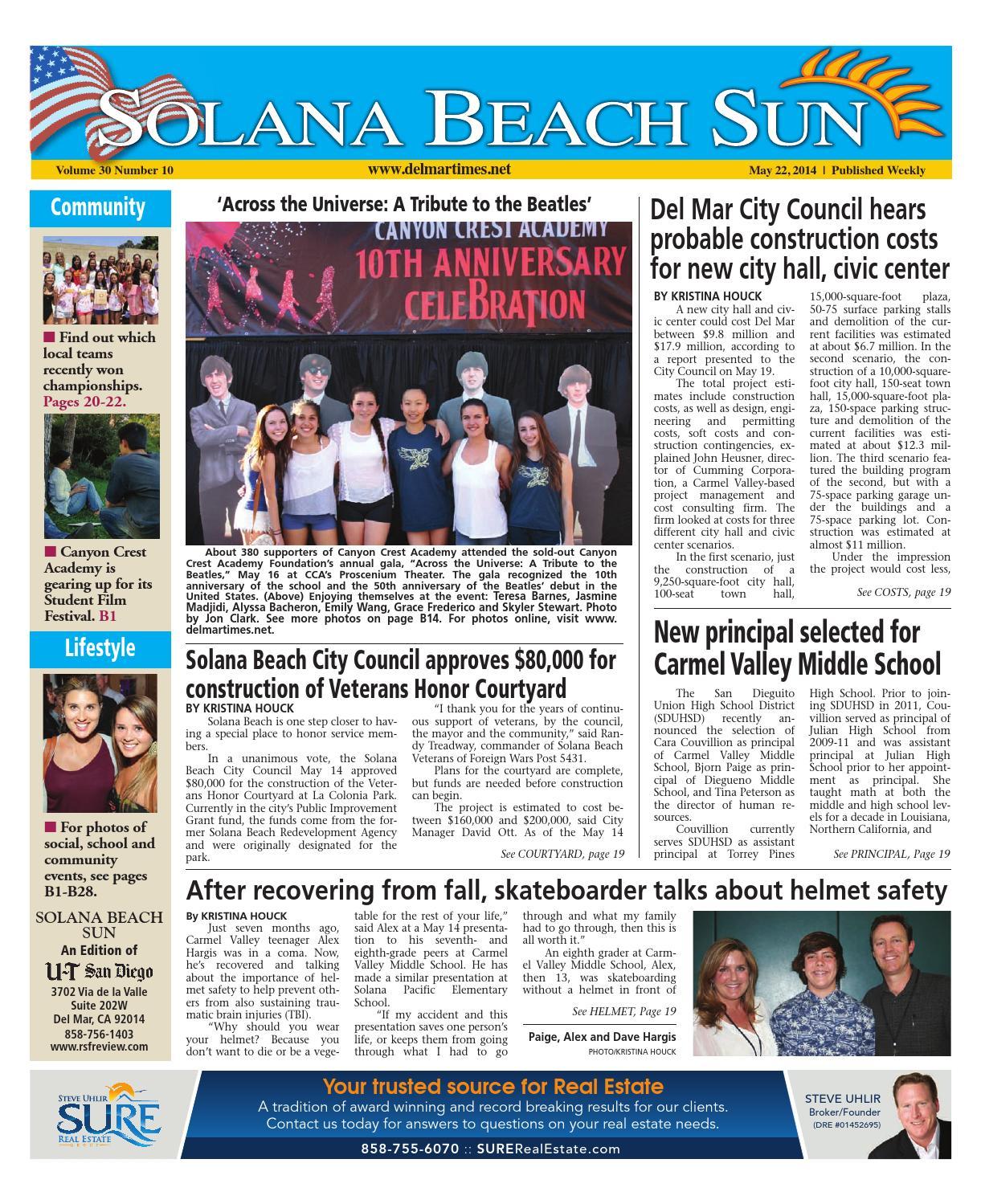 49308a083d3 Solana beach sun 5 22 14 by MainStreet Media - issuu