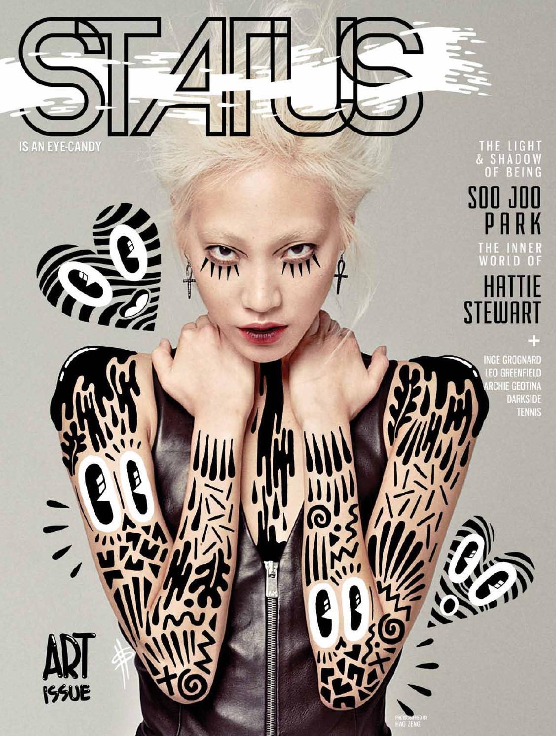 af36d5c294f5 STATUS Magazine feat. Soo Joo Park by STATUS Magazine - issuu